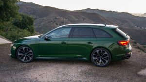 Audi RS4 Avant from the left side