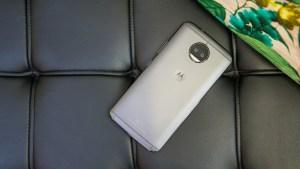 Motorola Moto G5S Plus rear