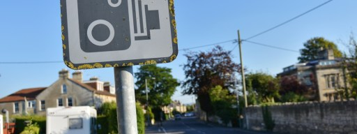 Speeding fines and speed camera