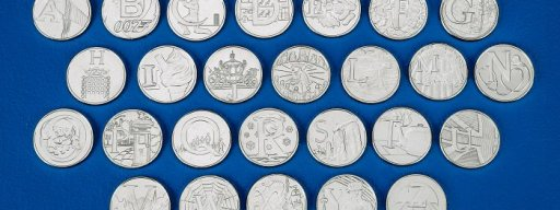 Royal Mint 10p set