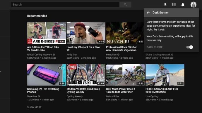 dark-theme-youtube