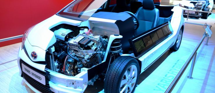 What is a solid-state battery used in a Toyota Yaris