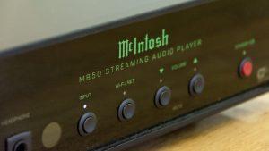 McIntosh MB50 control panel