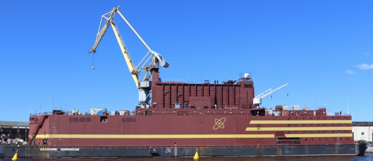 Russia's floating Chernobyl nuclear power plant