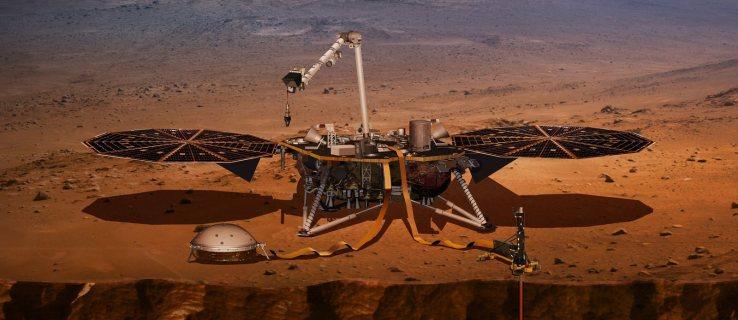 NASA Mars InSight lander mission