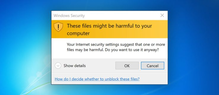 How to Disable the 'These Files Might Be Harmful to Your Computer' Warning