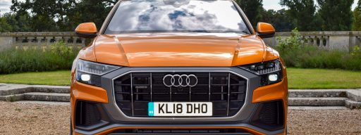 audi_q8_release_date_front_on_orange