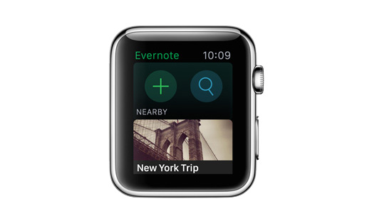 best_apple_watch_apps_evernote