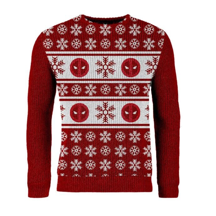 best_geeky_christmas_jumpers_deadpool
