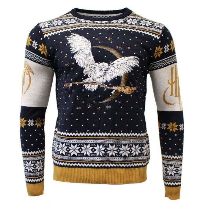 best_geeky_christmas_jumpers_harry_potter