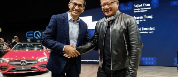 Nvidia partners with Mercedes-Benz to develop new automotive AI platform