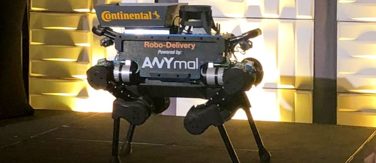 Continental unveils robot delivery dog