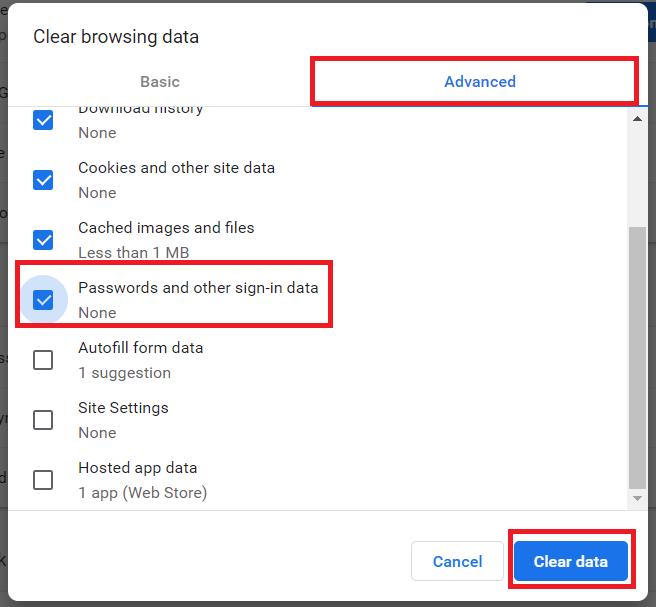 Chrome History Settings 2