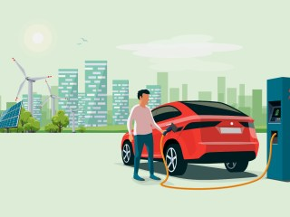 electric-car-illustration
