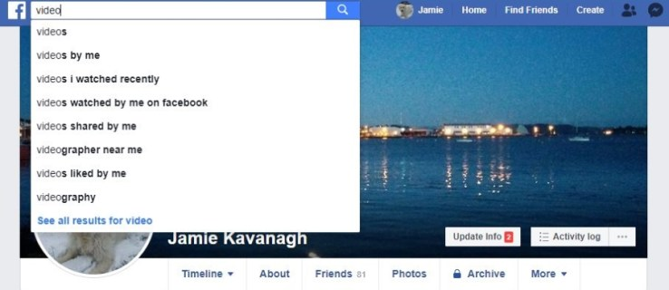 How To Find Specific Videos on Facebook
