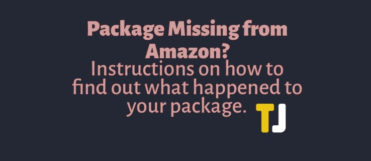 How To Report a Missing Package to Amazon