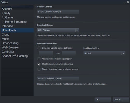 steam download settings