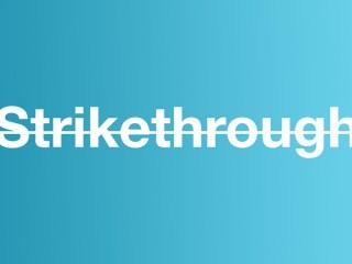 Whats the Shortcut for Strikethrough