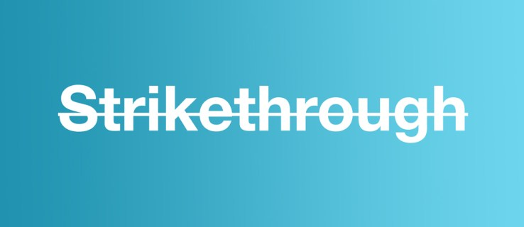 What's the Shortcut for Strikethrough? Here it is