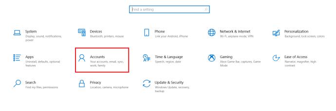Windows Settings Menu 2