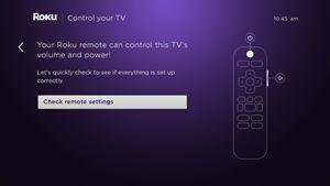 check remote settings