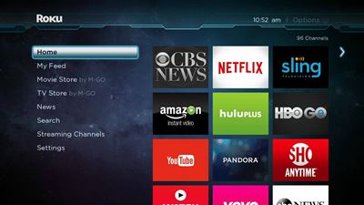 roku official home screen generic pic