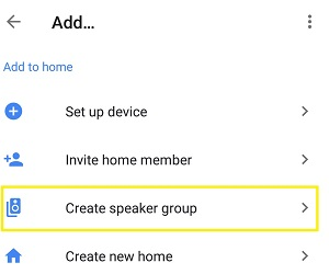 create speaker group