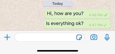 whatsapp only one tick
