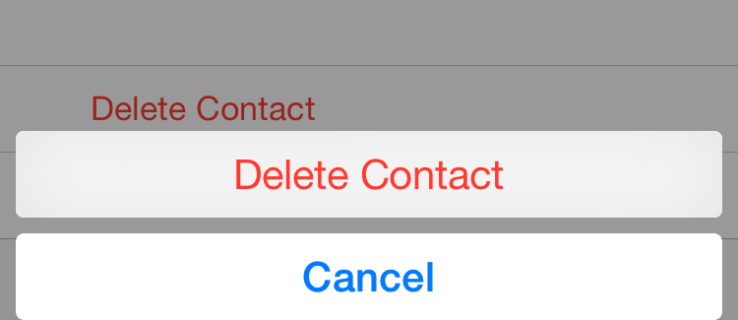How To Delete All Contacts on the iPhone [August 2021]