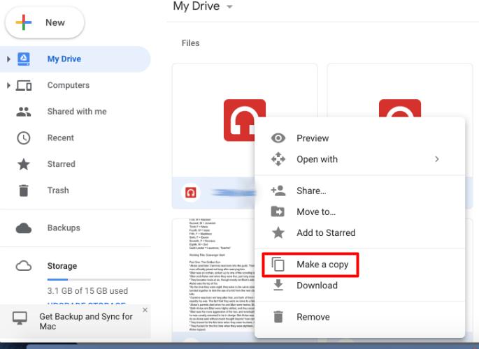 How To Duplicate Copy A Folder In Google Drive