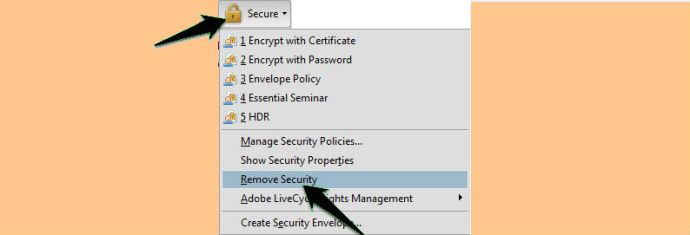 Remove PDF Password
