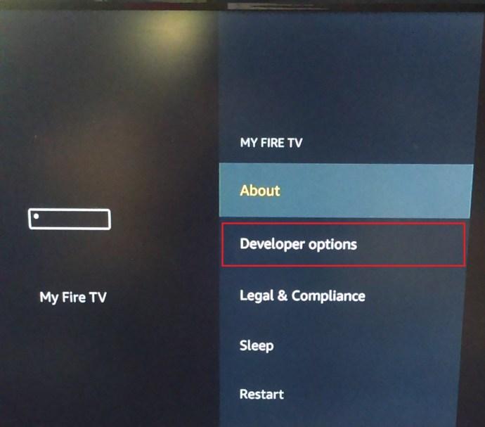 My Fire TV Menu