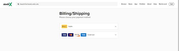 billing shipping