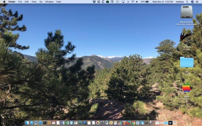 Desktop Wallpaper Changed