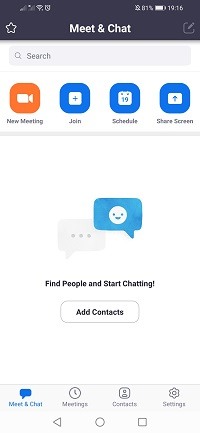 meet and chat