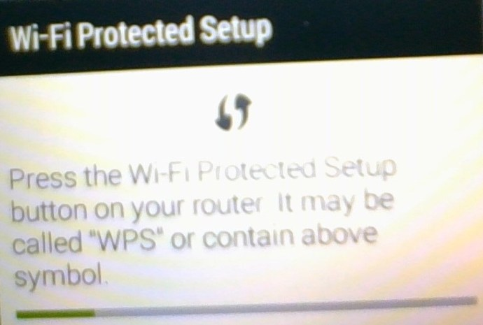 Android WiFi WPS Settings