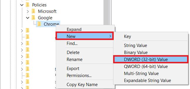 Windows Registry Key 3