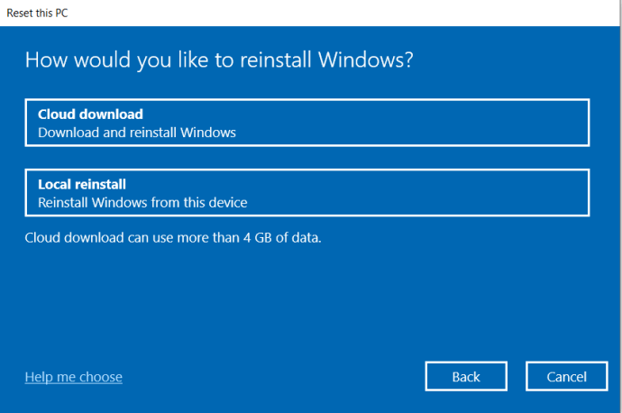 Windows Recovery Prompt 2