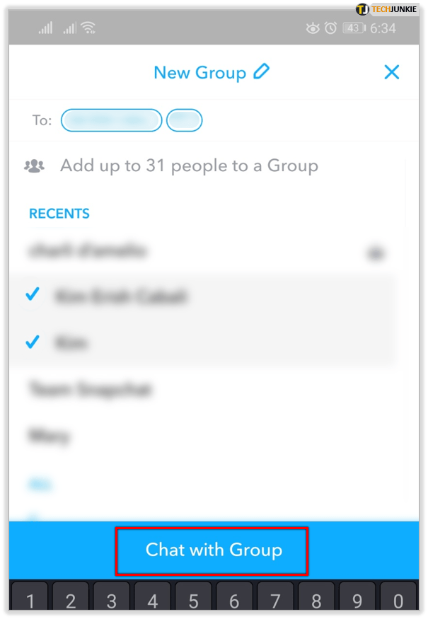 How to Create a Group Chat in Snapchat