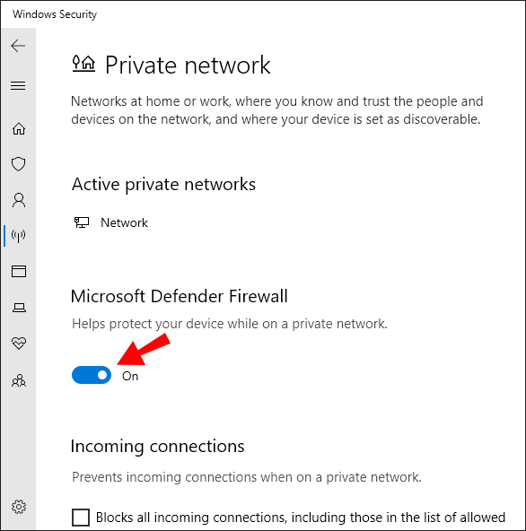 How To Turn Off The Windows Firewall