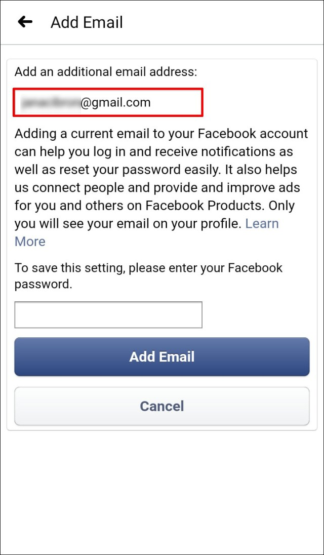 How to Change the Primary Email on Facebook