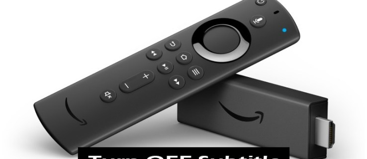 How to Turn Off Subtitles on a Firestick