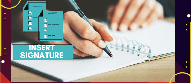 How to Insert a Signature into a Google Doc