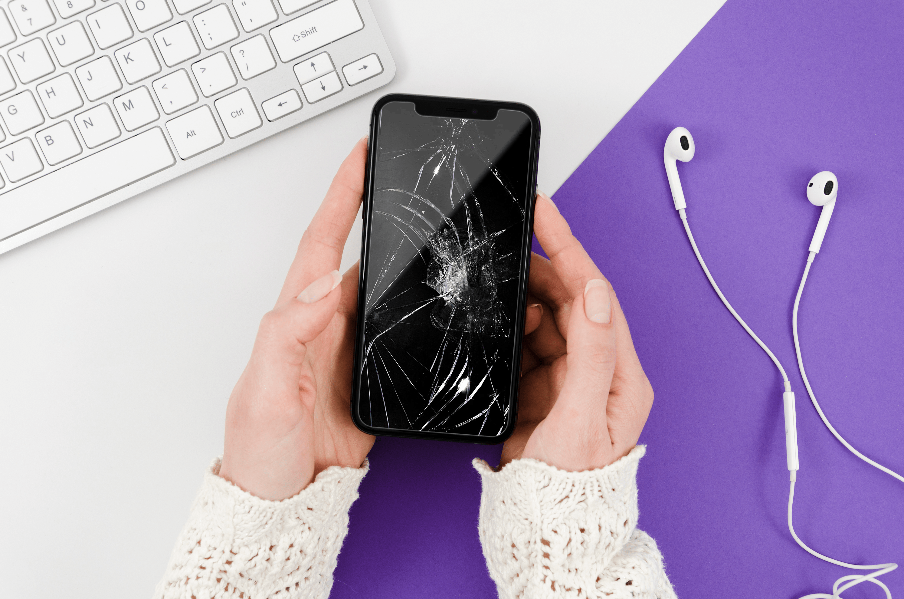 How to Access an Android Phone With a Broken Screen