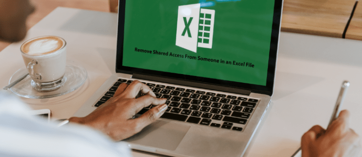 How To Remove Shared Access Permissions for Someone in an Excel File