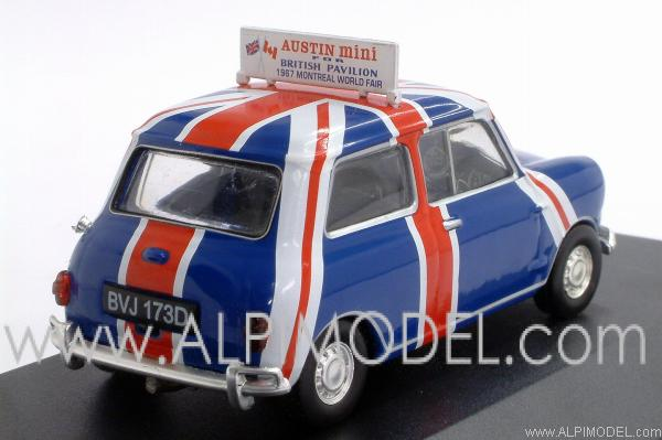 Ixo Models Austin Mini British Pavilion Montreal World