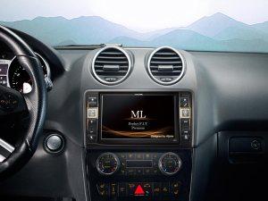Système Multimédia GPS Premium pour MercedesBenz ML