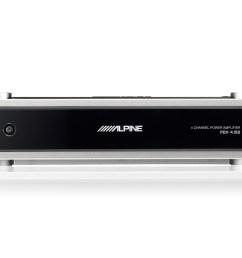 4 3 2 channel power density digital amplifier alpine pdx 4 150 [ 1600 x 1200 Pixel ]