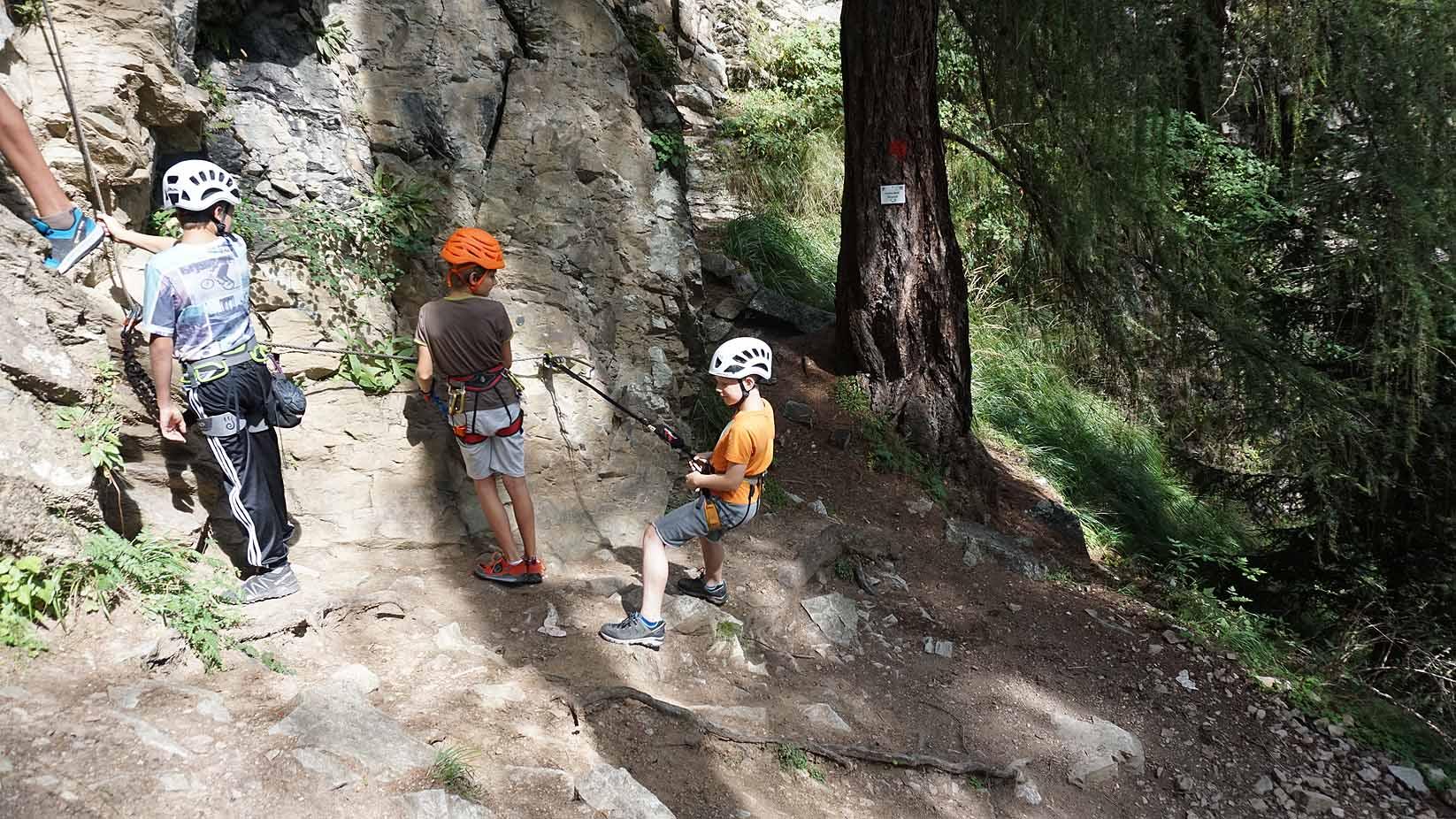 Klettersteigset Kinder 20 Kg : Klettersteig mit kinder und jugendlichen eine besondere herausforderung!