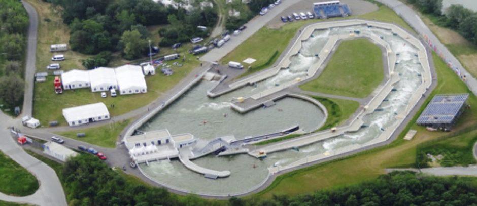 """Die Vienna Watersports Arena bietet beste Voraussetzungen für den ultimativen Schwimme-Event """"Swim the Channel"""""""